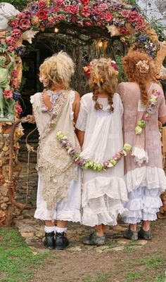 boho chic wedding idea 42