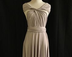 Vestido vestido de Dama de honor Infinity rodilla por ScholleDress