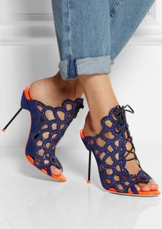 gorgeous shoes but I can't wear heels that high