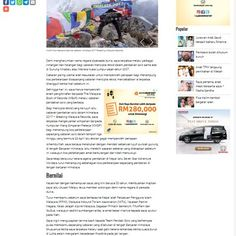 Pendaki Solo Cipta Rekod Ketujuh Utusan Online 3 7 2017  Demi mengharumkan nama negara dipersada dunia saya terpaksa melalui pelbagai rintangan dan halangan bagi cabaran mencipta rekod dalam pendakian solo sama ada di Gunung Kinabalu atau Menara Kuala Lumpur sejak tahun 2007 Cabaran paling utama ... Readmore: http://babab.net/feed/ http://ift.tt/2syeOwM Readmore: http://ift.tt/2tvklny http://ift.tt/2thQ7SD http://ift.tt/2tp9hsx