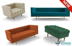 Just launched!  A prime example of the timeless designs of the 1950's and 60's, the Welles collection is also a contemporary masterpiece.  View the collection: http://jybd.co/1A89DOg