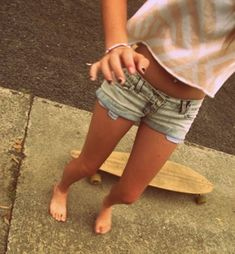 Get good at longboarding and pull it off like a hipster(: