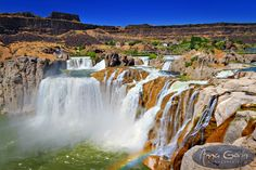 Shoshone Falls, Niagara of the West | travel landscapes hdr  | Anna Gorin Design & Photography, Boise, Idaho
