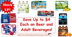 **WOW** Stock up on Beer and Adult Beverages for the summer! Save up to $4.00 each! Bud, PBR, Mike's and lots more!  Click the link below to get all of the details ► http://www.thecouponingcouple.com/hot-save-up-to-4-ea-on-beer-and-adult-beverages/ #Coupons #Couponing #CouponCommunity  Visit us at http://www.thecouponingcouple.com for more great posts!