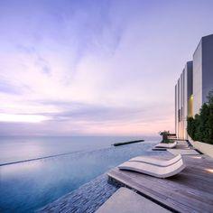 Baan Plai Haad is a sea-side condominiumin PattayabySansiri.TROPdesign the landscape.Steven J. Leach, Jr. + Asso ciates Limited (SL+A)is the architect. Photography team » W Workspace Photogr…