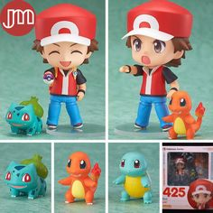 Find More Action & Toy Figures Information about New 1 Set Nendoroid 425 Pokemon Ash Ketchum Balbazor Zenigame Charmander Squirtle Bulbasaur Action Figure Toy Anime Model Box,High Quality toy bed,China toy box set Suppliers, Cheap toy storage box from M&J(Changsha) Global Trading Co.,Ltd on Aliexpress.com