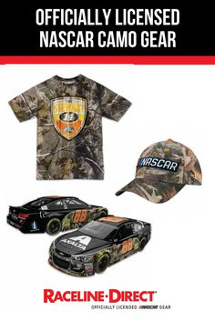Check out new additions to the Officially Licensed NASCAR camo gear collection