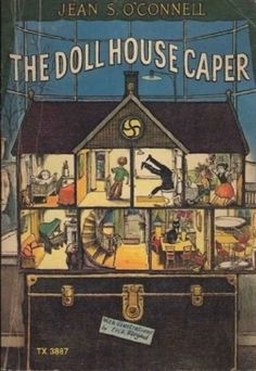 The Doll House Caper by Jean S. O'Connell | 21 Awesome Book Covers Illustrated By Erik Blegvad