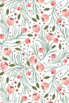winter floral pine design   shopcabin