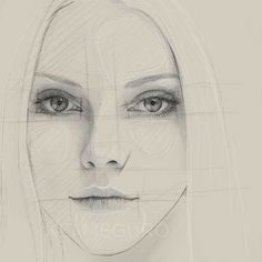 Getting back into sketching out some classic portraits (Photo reference: Elle Evans)