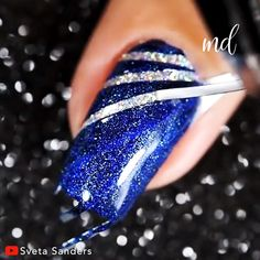 credit card numbers that work credit card inspiration credit cards photos Heres the inspiration you need for your next manicure Credits: Sveta Sanders New Year's Nails, New Nail Art, Nail Art Diy, Diy Nails, Nail Art Designs Videos, Nail Art Videos, Cute Nail Designs, Cute Acrylic Nails, Acrylic Nail Designs