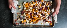 Learn how to make Vivian Howard's bacon-roasted root vegetables with rosemary honey.