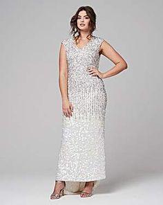 Plus Size Designer Formal - Plus Size women\'s Joanna Hope Sequin ...