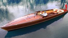 McLaren Design Director Frank Stephenson creates an electric-powered riverboat inspired by the sleek, wooden-hulled boats of the mid-nineteenth century.