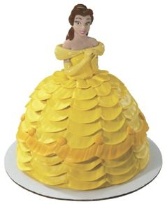 Disney Princess Belle Petite Cake Decorating Kit  and instructions
