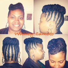 Braids and top roll