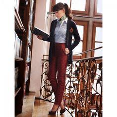 Pantalons n°110 de Burda Style Novembre 2013