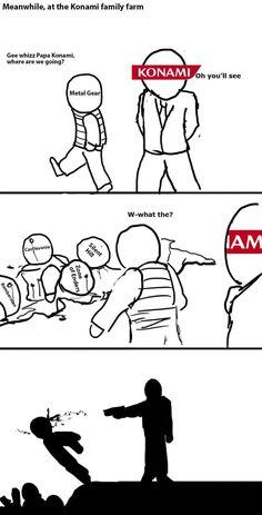 Goddamn Konami & Metal Gear