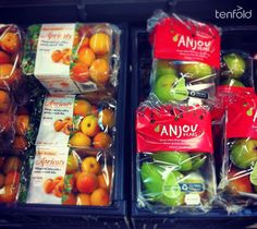 Summer fruit packaging :: Lucy Olive, Tenfold Creative