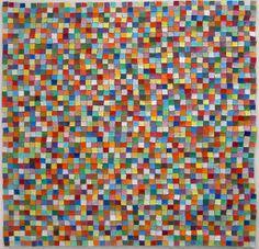Color assemblages by Suzy Potaznik, via Behance