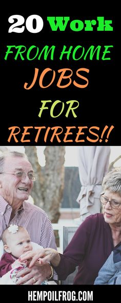 20 high-paying work from home jobs for retirees who want to make extra cash from home during their free time. Visit this post and discover some of the best side hustles you can use to make money online as a retiree or senior citizen. Work From Home Careers, Legitimate Work From Home, Online Work From Home, Cash From Home, Make Money From Home, Make Money Online, Senior Jobs, Working For Amazon, Working Mom Tips