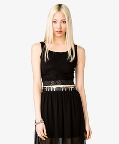Lace Crop Top | FOREVER21 - 2030187975