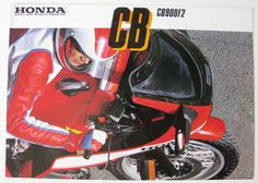 HONDA CB900F2 - Motorcycle Sales Brochure - 1982 - #2C0113 | eBay