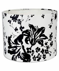 Portfolio 11 x 13 x 9 black and white drum lamp shade living portfolio 11 x 13 x 9 black and white drum lamp shade living room re do pinterest drums 11 and style aloadofball Images