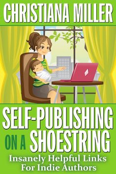 This is a wonderful eBook for self-published authors who need budget resources for every step of the process, including the marketing. The book was written by a woman I met in a screenwriting class, Christiana Miller, and it's full of hyperlinks to useful resources. You can buy it on Amazon.