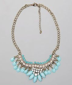 BKE Statement Necklace at Buckle.com #turquoise
