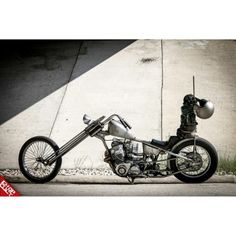 CB750 Chopper via chopcult | Chopper Inspiration - Choppers and Custom Motorcycles | chopcult December 2014