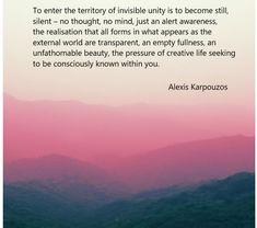 words of wisdom by alexis karpouzos Byron Katie, Spiritual Teachers, Athens, Videos, Unity, Greece, Poetry, Spirituality, Mindfulness