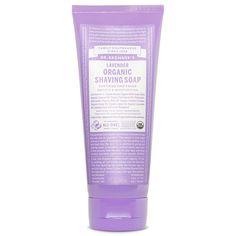 Dr. Bronner's Magic Soaps Retail Store Lavender Organic Shaving Soap - 7 oz.