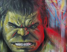 """Check out new work on my @Behance portfolio: """"Hulk Paint canvas Dave Baranes"""" http://be.net/gallery/44655375/Hulk-Paint-canvas-Dave-Baranes"""