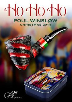 Poul Winslow Christmas 2014 Pipe.