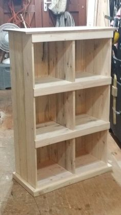 Book case - photo for idea only (no link to plans or tutorial)