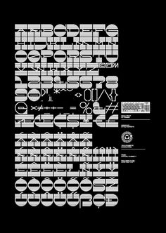 Eniac Pro - Exclusive Typeface for HypeForType, 2010. by Official Classic, via Behance