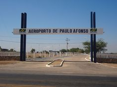 """Aeroporto de Paulo Afonso"". # Paulo Afonso, Bahia. Brasil."