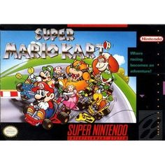 awesome Super Mario Kart  super nintendo super mario kart video game cartridge Product Features  Go-kart action with Super Mario characters Play as one of many different charac... http://gameclone.com.au/games/racing/super-mario-kart/