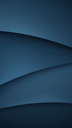 Dark Blue, gradient, abstract, wave flow, minimalist, 720x1280 wallpaper