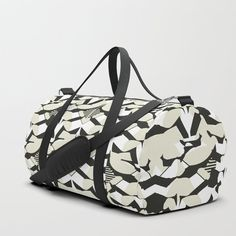 Abstract Geometric Pattern in Constrast Colors Duffle Bag Keep Shopping, Gym Bag, Print Design, Abstract, Colors, Pattern, Fabric, Bags, Decor