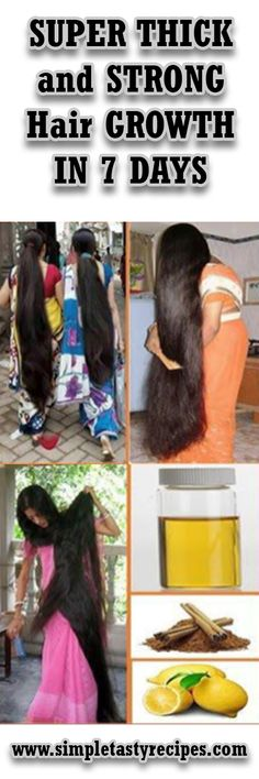 SUPER THICK and STRONG Hair GROWTH IN 7 DAYS #Hair