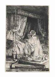 Giclee Print: King David at Prayer Art Print by Rembrandt van Rijn : Rembrandt Etchings, King David, Paris Ville, Gradient Color, Giclee Print, Art Print, Find Art, Framed Artwork, Prayers