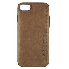 1903ee606f6ee Puloka Apple iPhone 7 - 8 Multi-Function Deri Cüzdanlı Kılıf - Kahverengi
