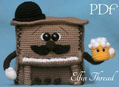 Elfin Thread - Piano Amigurumi Pattern (PDF Instrument  crochet pattern) by ElfinThread on Etsy https://www.etsy.com/listing/231959672/elfin-thread-piano-amigurumi-pattern-pdf