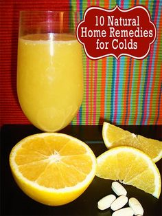 10 home cold remedies! Great for the upcoming season!