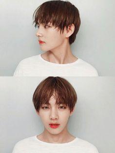 Kim Taehyung serving the real visuals JESUS