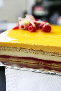 Gourmet Baking: Mango and Raspberry Entremet