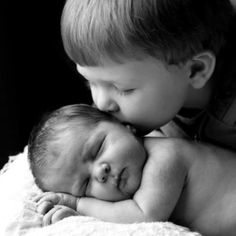 Newborn photo idea--Will and Jacob must do