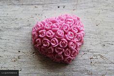 Mydło glicerynowe o zapachu różanym. #happysoaps